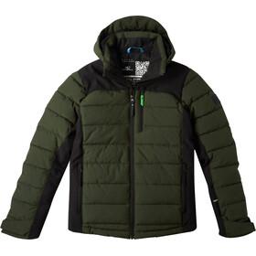O'Neill Igneous Jacket Boys, groen/zwart